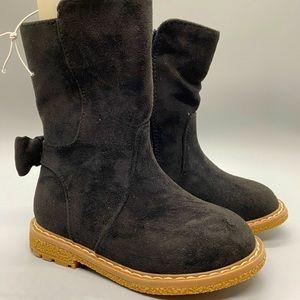 Girls mid calf boots